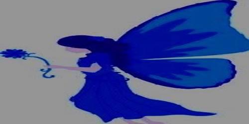 নীল শাড়ী