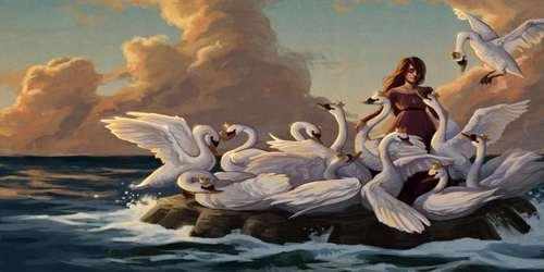 রাজকুমারী ও বুনোহাঁসের গল্প