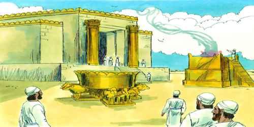 সোলায়মন ঈশ্বরের মন্দির তৈরী করেন