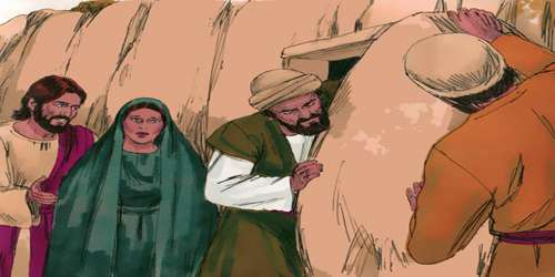 মৃত লাসার জীবিত হলেন