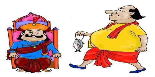 মহারাজ কৃষ্ণচন্দ্রের সভায় গোপাল ভাঁড়কে এক হাজার টাকা পুরস্কার