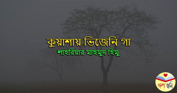 কুয়াশায় ভিজেনি গা